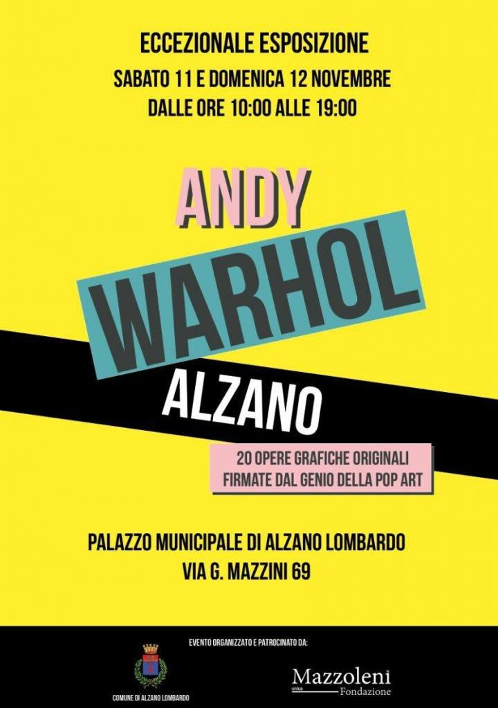 Andy Warhol al Comune di Alzano Lombardo (BG)