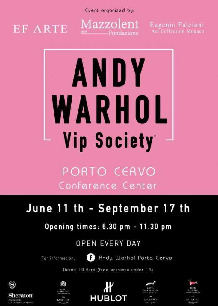 Andy Warhol a Porto Cervo