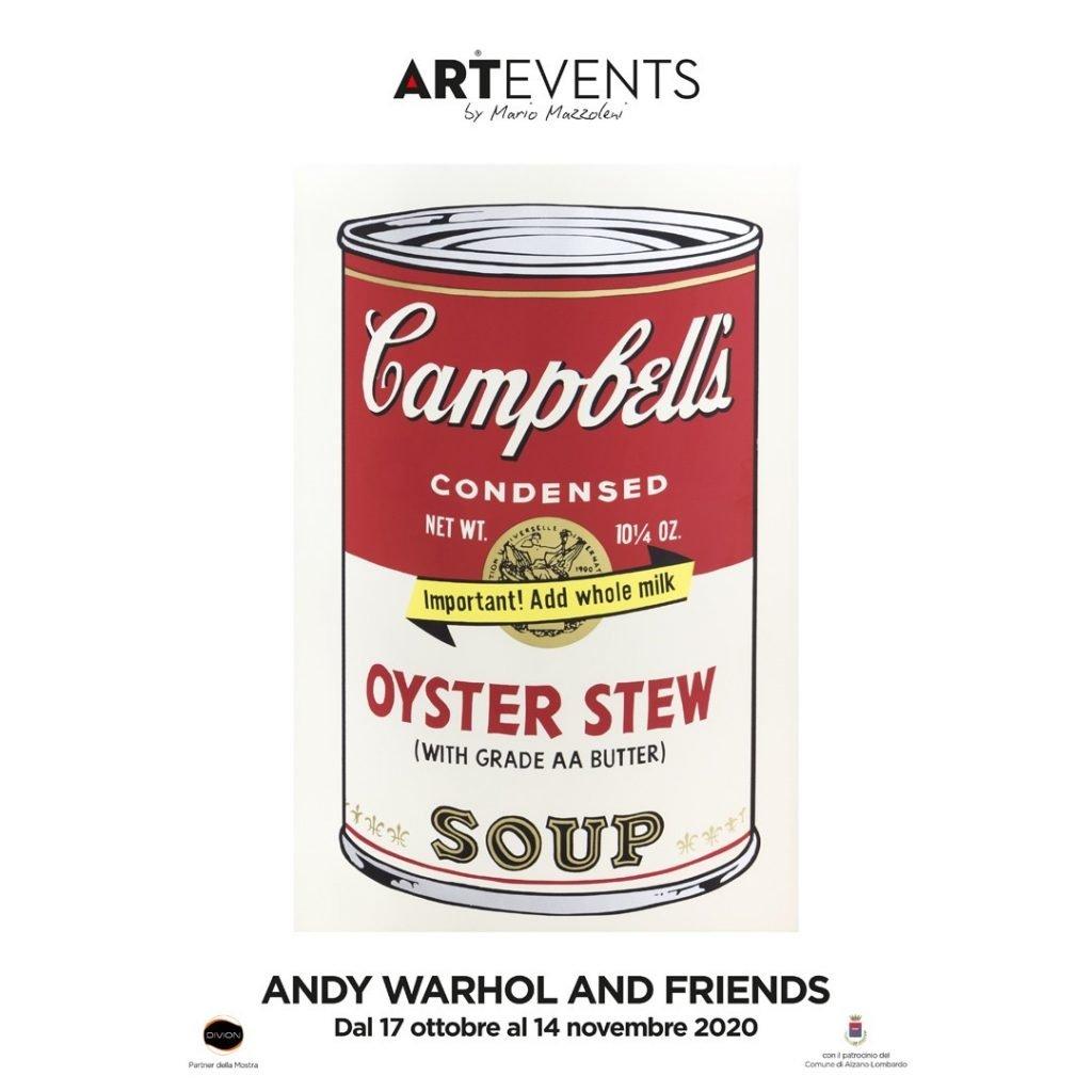 Mostra Andy Warhol and Friends ad Alzano Lombardo dal 17 ottobre al 15 dicembre