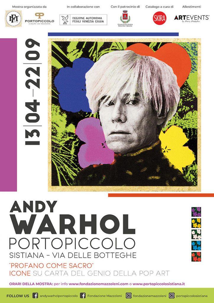 Andy Warhol a Portopiccolo (Trieste)