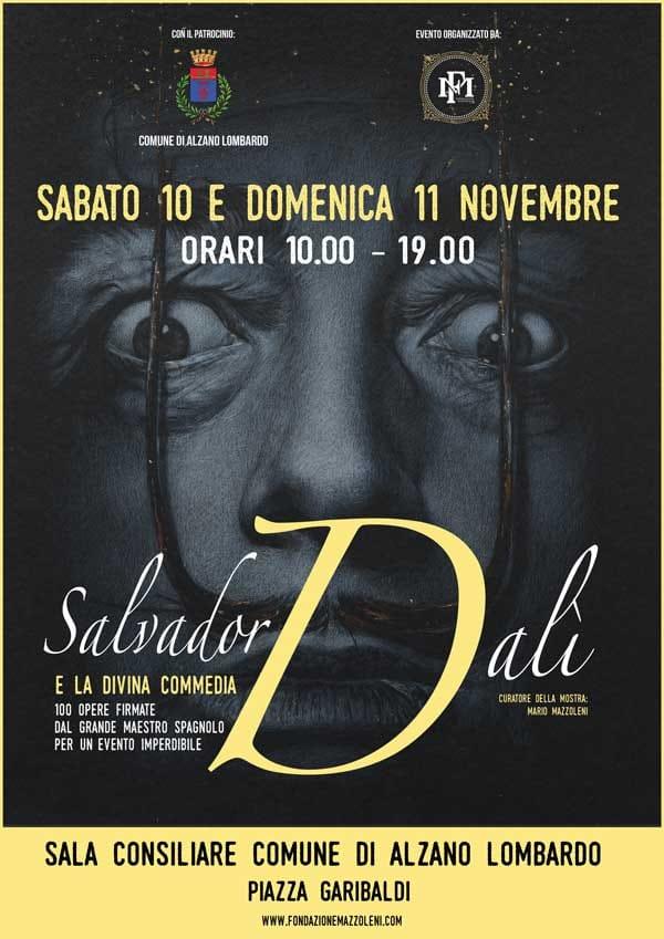 La Divina Commedia surrealista di Dalí in mostra ad Alzano