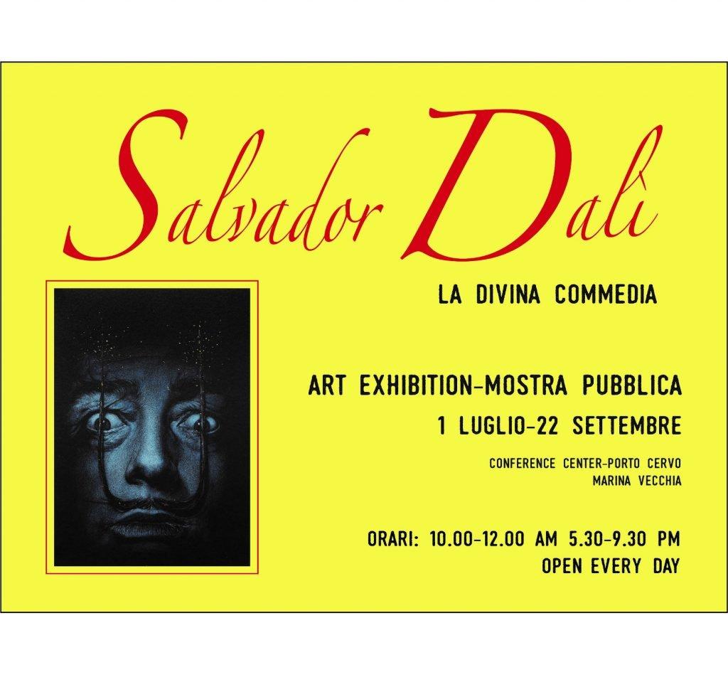 La Costa Smeralda abbraccia Dante Alighieri e Salvador Dalí