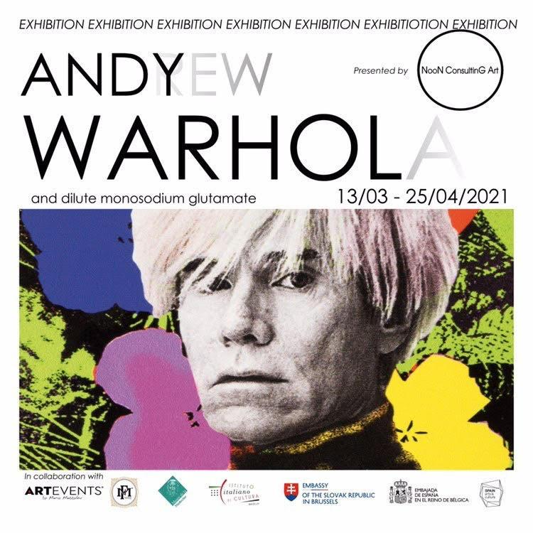 Andy Warhol - La collezione privata Mazzoleni in mostra a Bruxelles